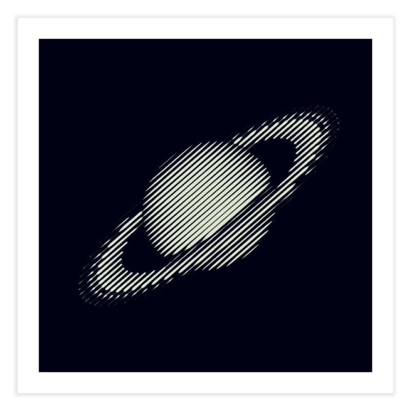 Saturn Home Fine Art Print by sustici's Artist Shop