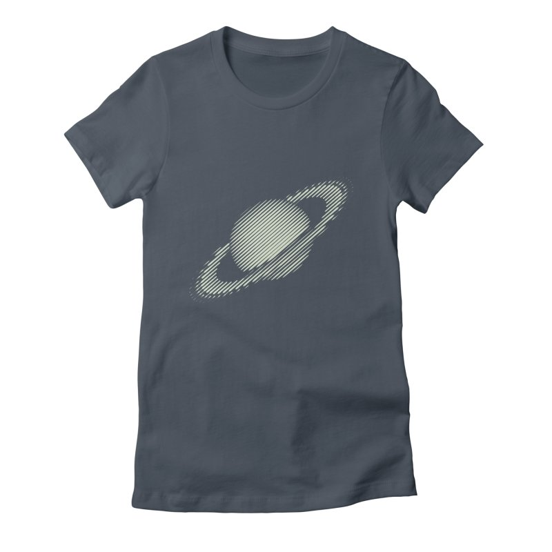 Saturn Women's T-Shirt by sustici's Artist Shop