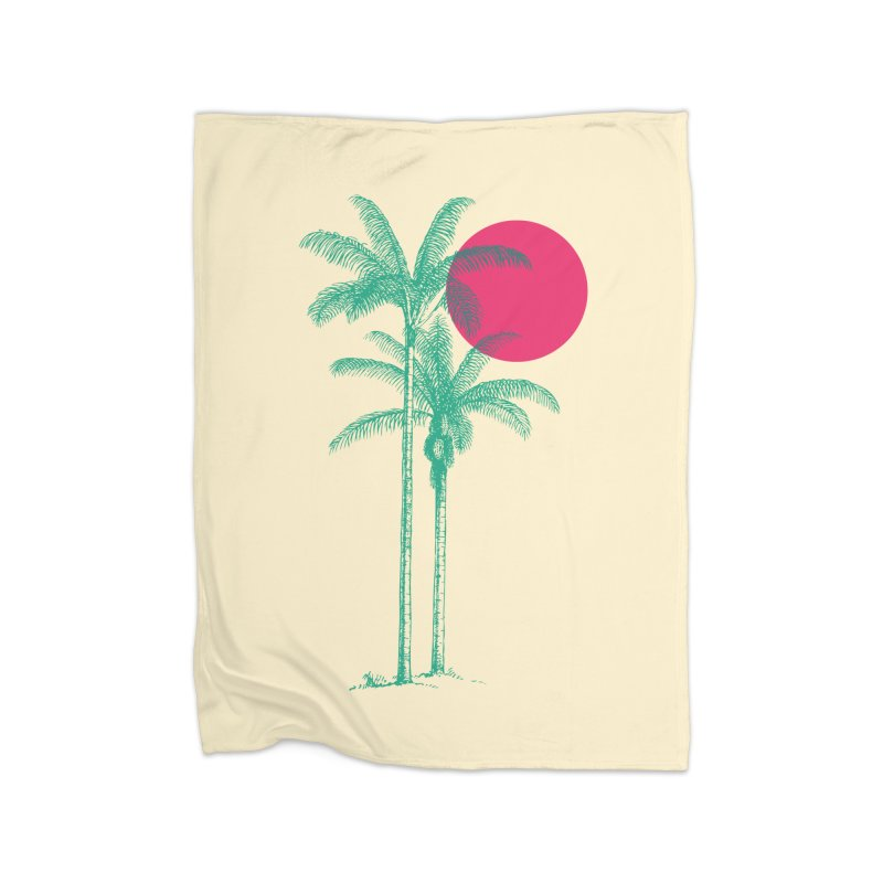 Palm Beach Home Blanket by sustici's Artist Shop