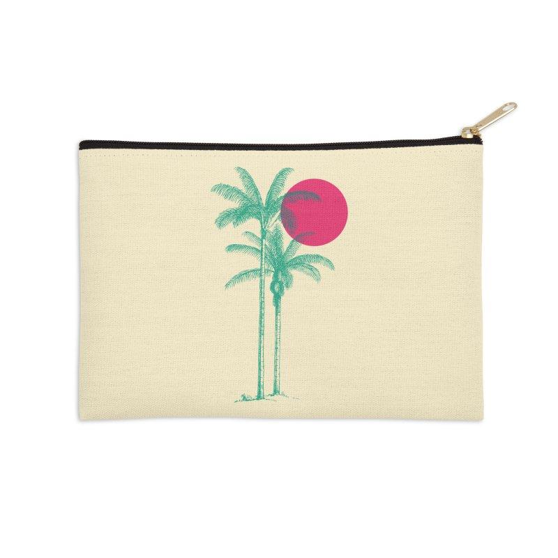 Palm Beach Accessories Zip Pouch by sustici's Artist Shop