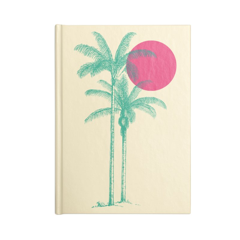 Palm Beach Accessories Notebook by sustici's Artist Shop