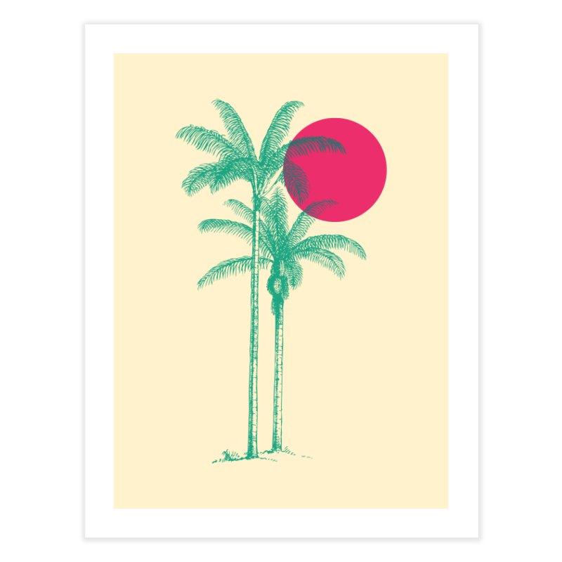 Palm Beach Home Fine Art Print by sustici's Artist Shop