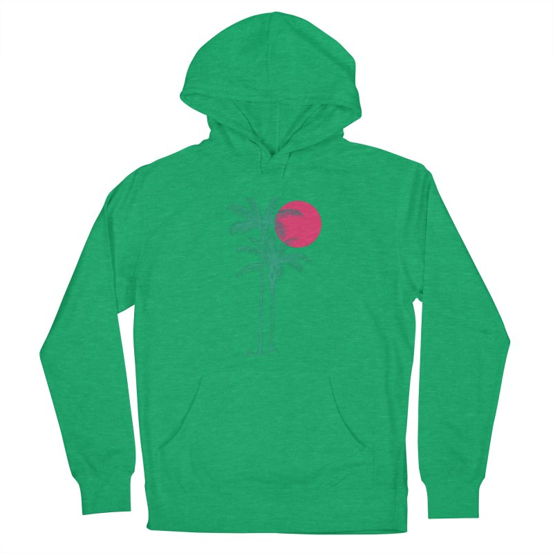 Palm Beach Men's Pullover Hoody by sustici's Artist Shop