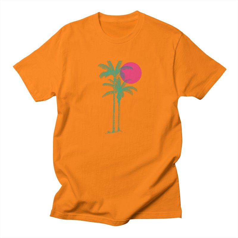 Palm Beach Men's T-Shirt by sustici's Artist Shop
