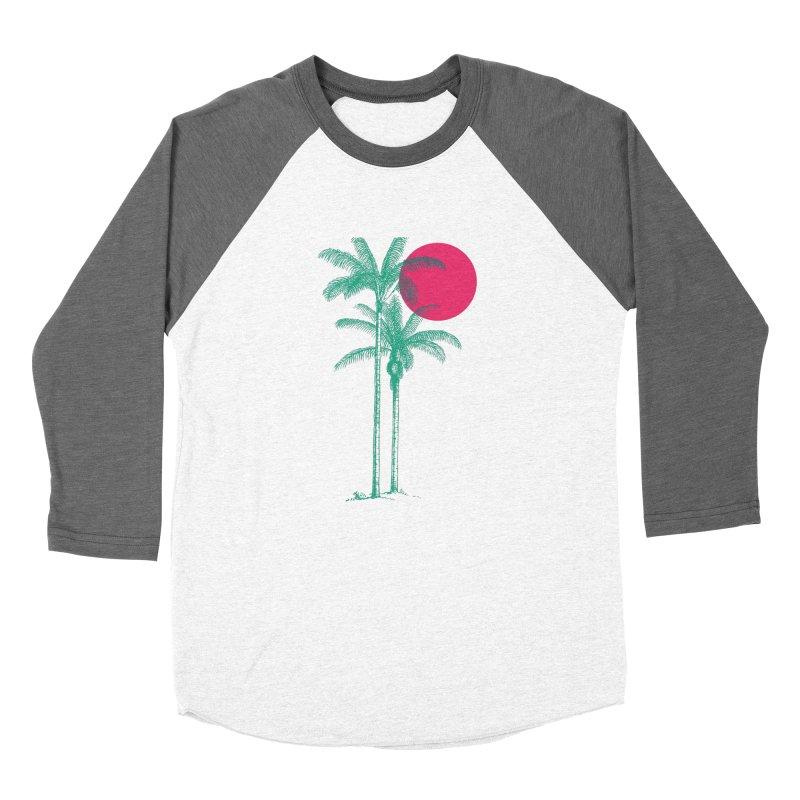 Palm Beach Women's Baseball Triblend T-Shirt by sustici's Artist Shop