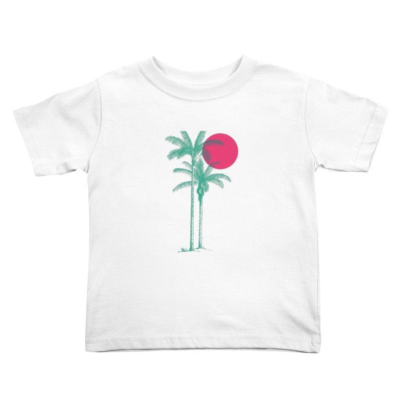 Palm Beach Kids Toddler T-Shirt by sustici's Artist Shop