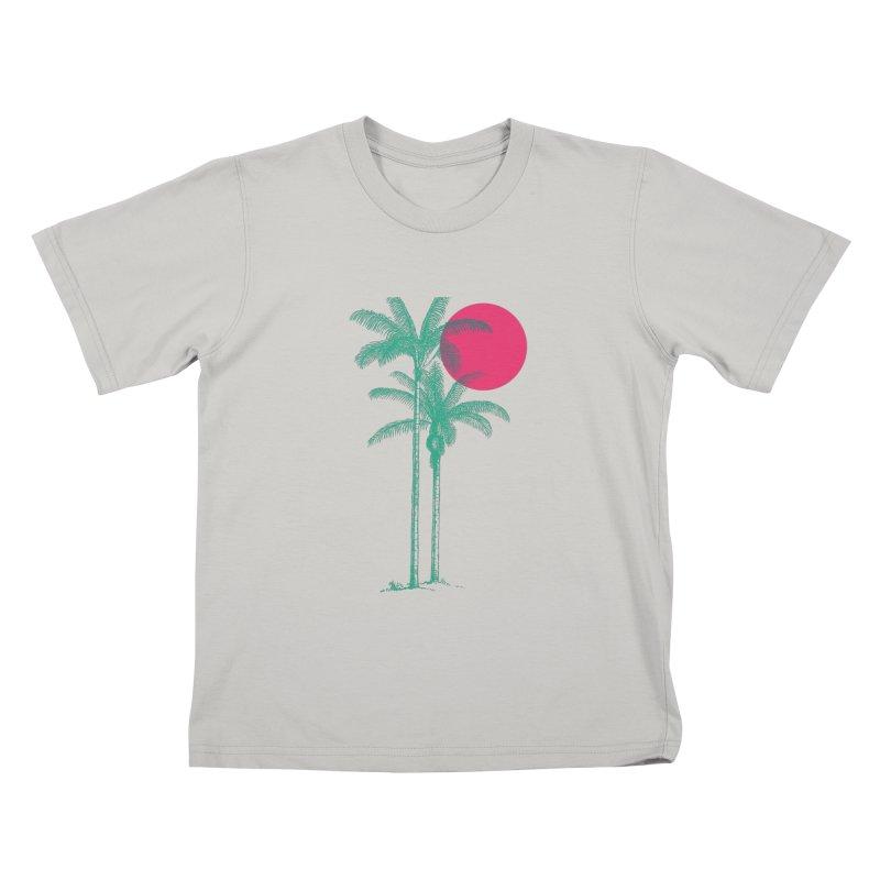 Palm Beach Kids T-Shirt by sustici's Artist Shop
