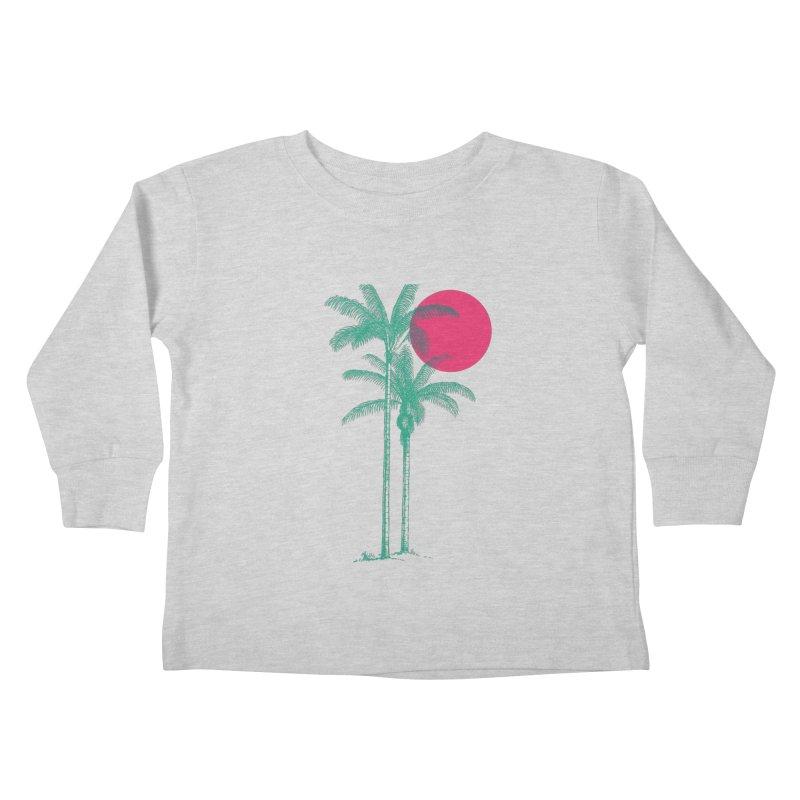 Palm Beach Kids Toddler Longsleeve T-Shirt by sustici's Artist Shop