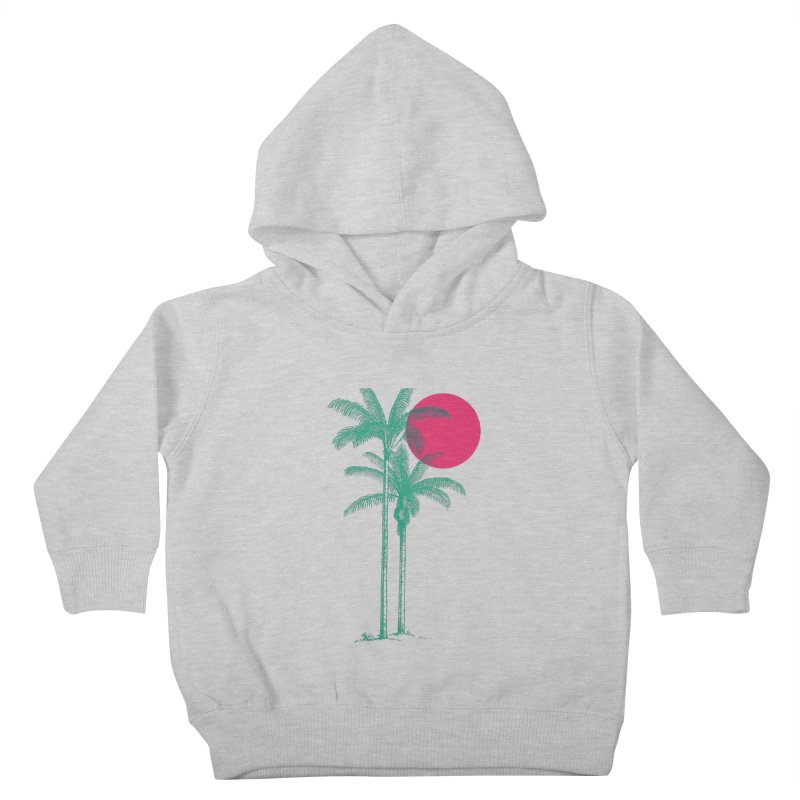 Palm Beach Kids Toddler Pullover Hoody by sustici's Artist Shop