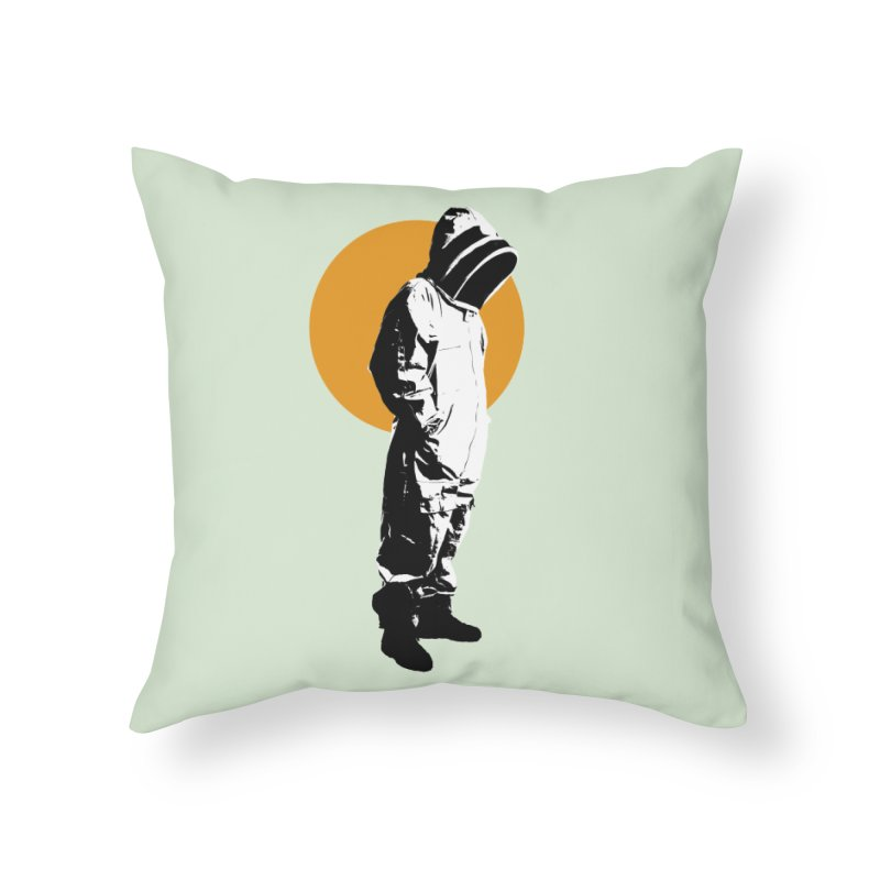Next Level Home Throw Pillow by sustici's Artist Shop