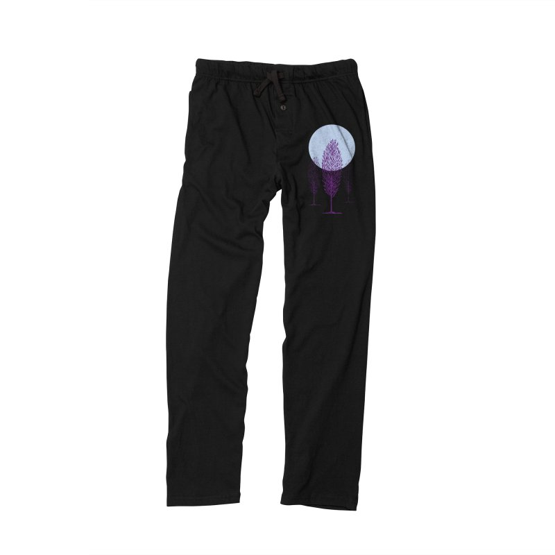 trees in the snow Women's Lounge Pants by sustici's Artist Shop