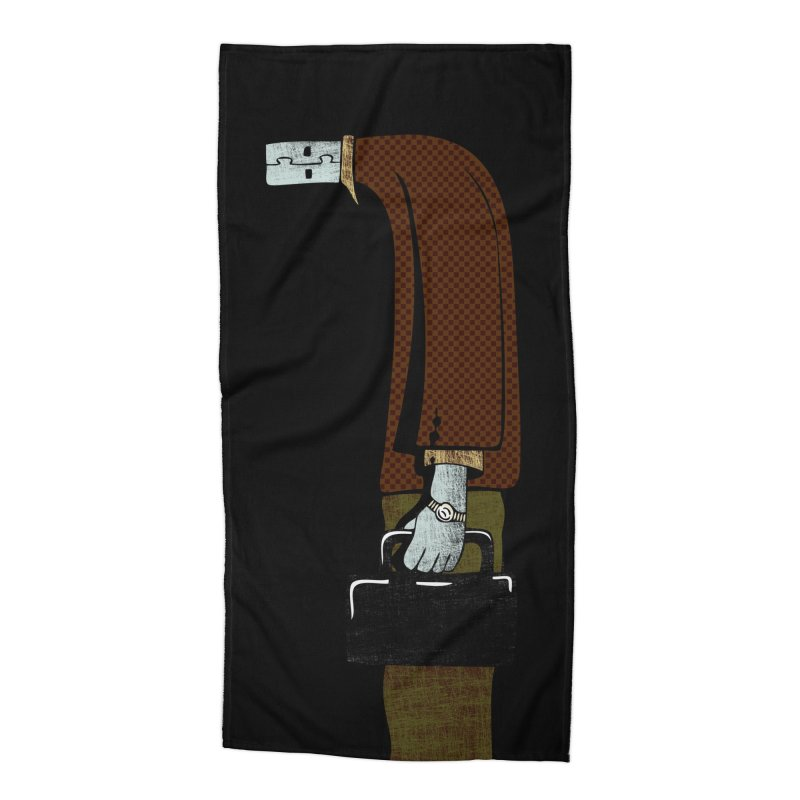 usb man Accessories Beach Towel by sustici's Artist Shop