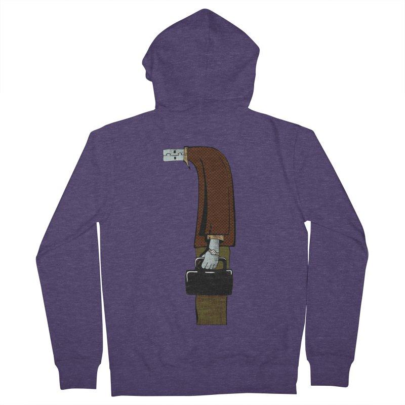 usb man Men's Zip-Up Hoody by sustici's Artist Shop