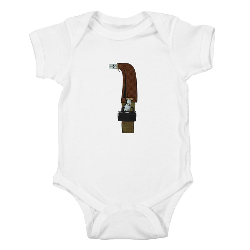 usb man Kids Baby Bodysuit by sustici's Artist Shop