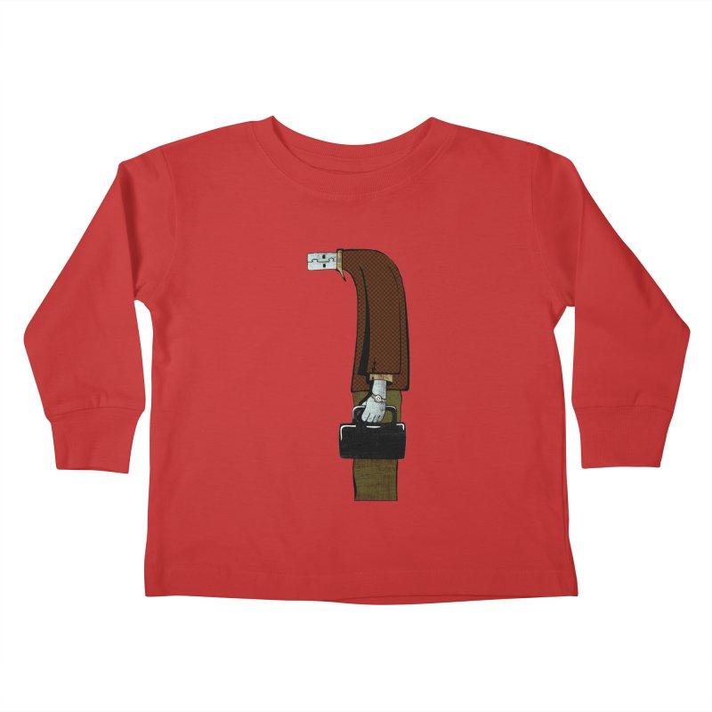 usb man Kids Toddler Longsleeve T-Shirt by sustici's Artist Shop