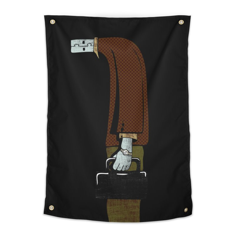 usb man Home Tapestry by sustici's Artist Shop