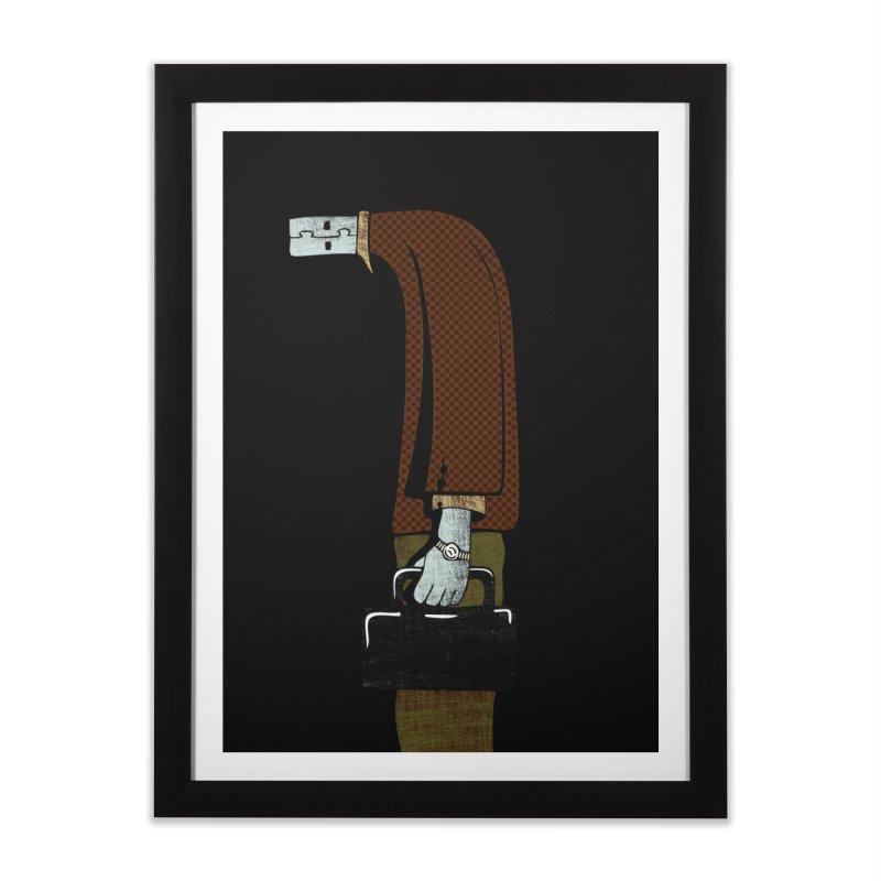 usb man Home Framed Fine Art Print by sustici's Artist Shop