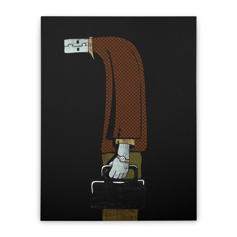 usb man Home Stretched Canvas by sustici's Artist Shop