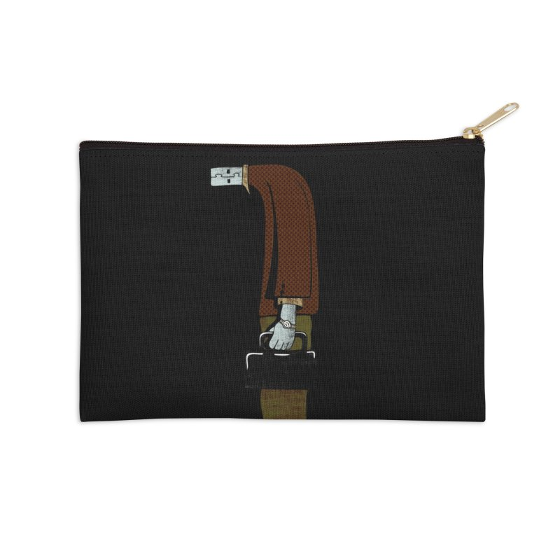 usb man Accessories Zip Pouch by sustici's Artist Shop
