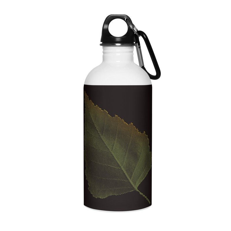 Leaf Accessories Water Bottle by sustici's Artist Shop