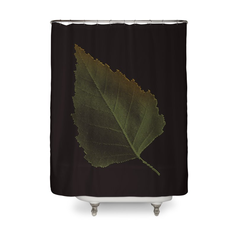 Leaf Home Shower Curtain by sustici's Artist Shop