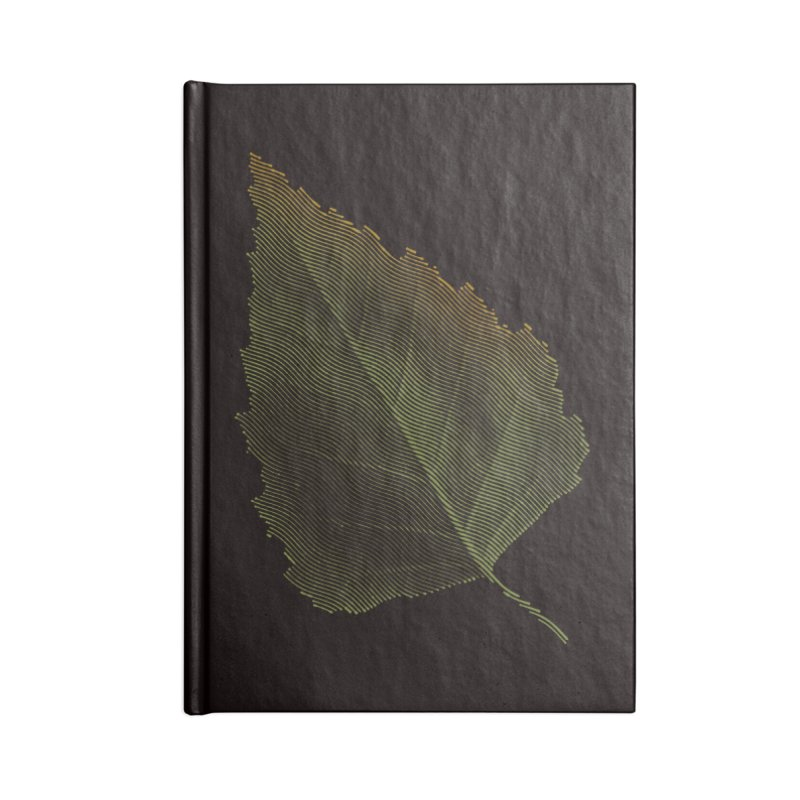 Leaf Accessories Notebook by sustici's Artist Shop