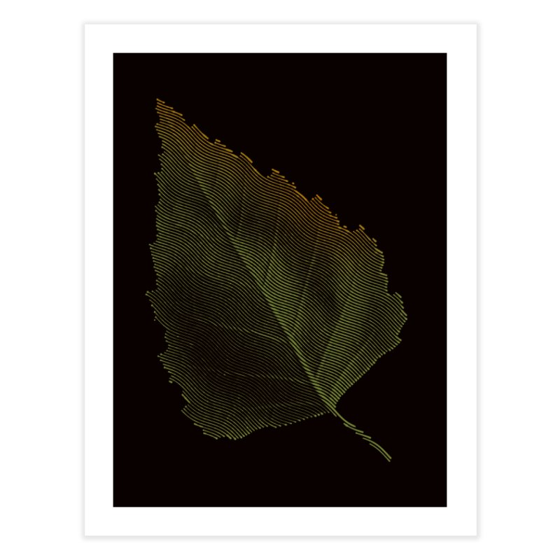 Leaf Home Fine Art Print by sustici's Artist Shop