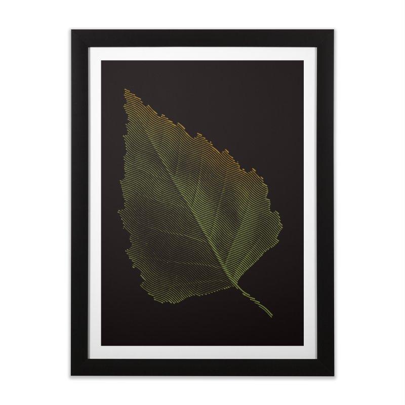 Leaf Home Framed Fine Art Print by sustici's Artist Shop