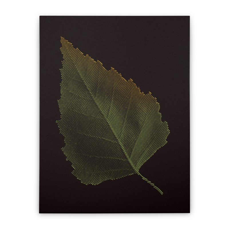Leaf Home Stretched Canvas by sustici's Artist Shop