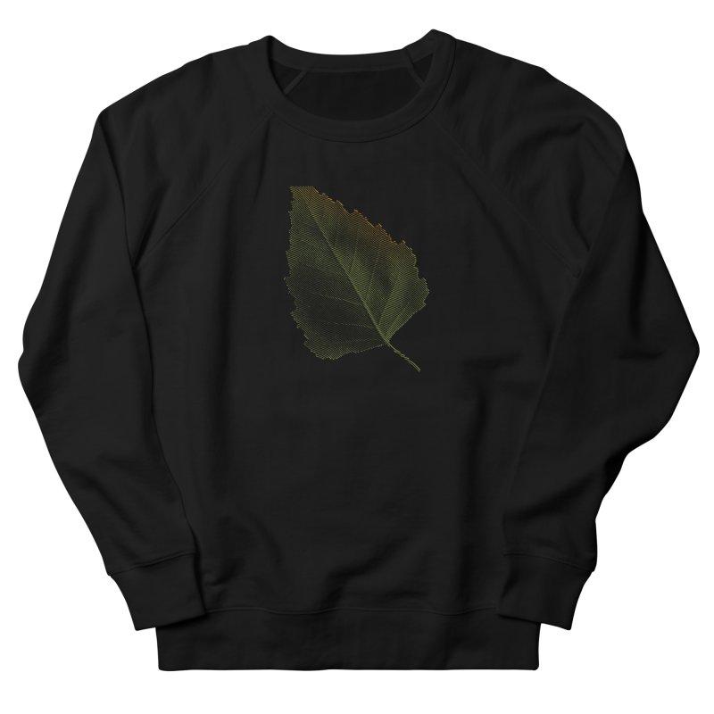 Leaf Women's French Terry Sweatshirt by sustici's Artist Shop