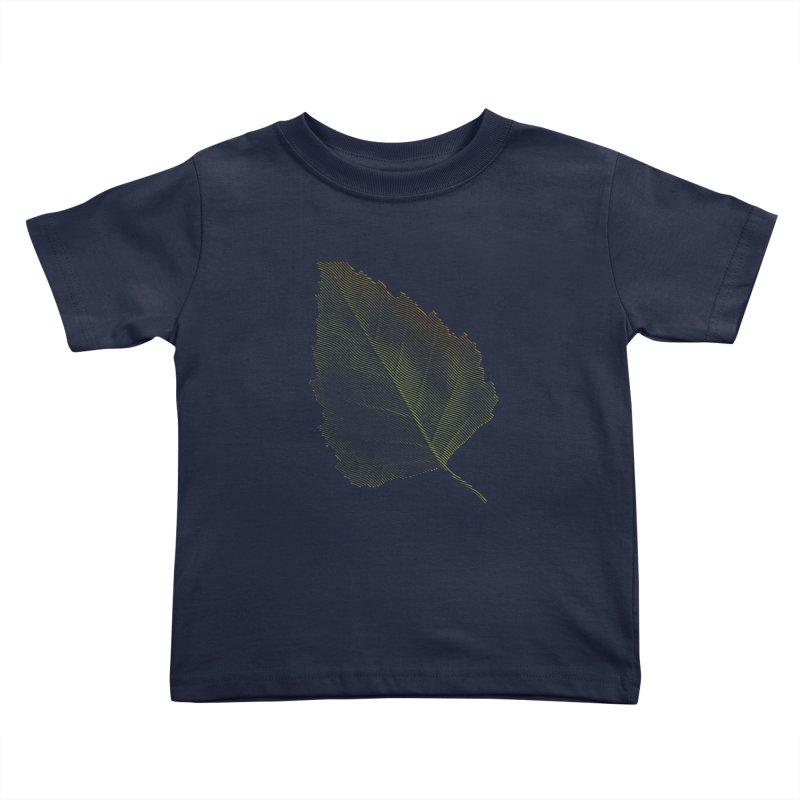 Leaf Kids Toddler T-Shirt by sustici's Artist Shop