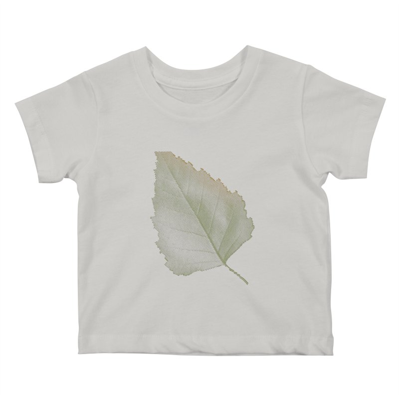 Leaf Kids Baby T-Shirt by sustici's Artist Shop