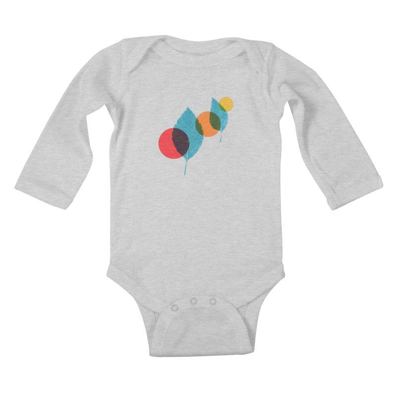 far away Kids Baby Longsleeve Bodysuit by sustici's Artist Shop