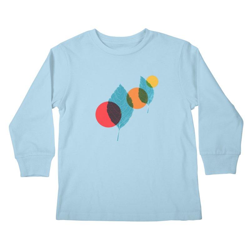 far away Kids Longsleeve T-Shirt by sustici's Artist Shop