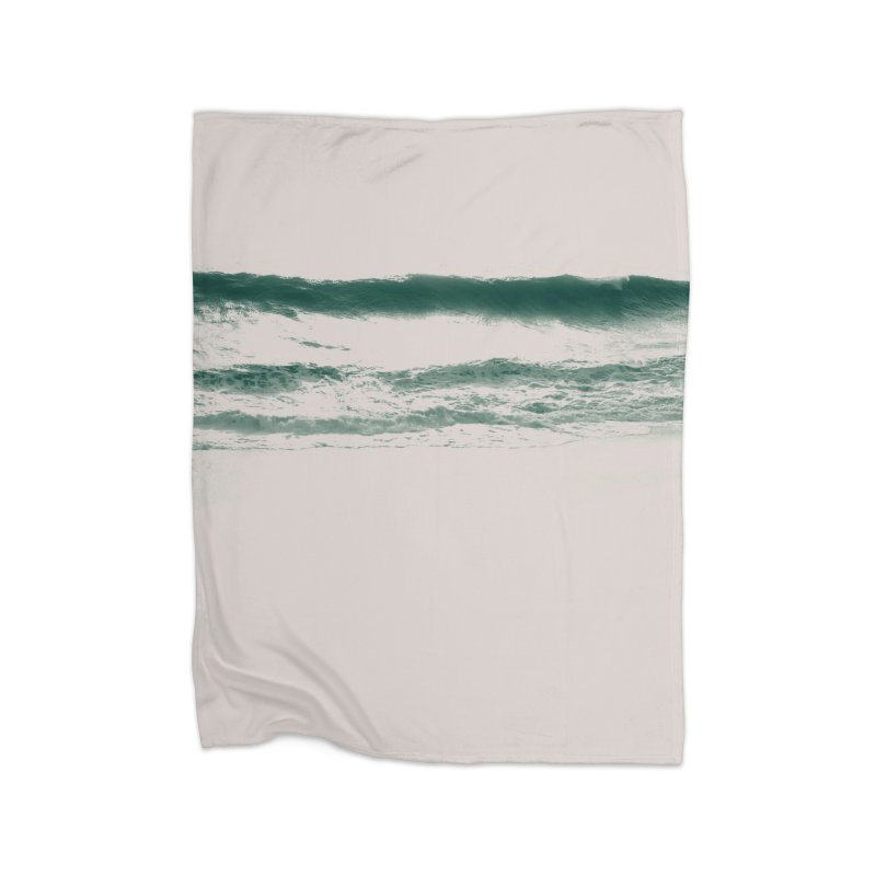 white noise Home Fleece Blanket Blanket by sustici's Artist Shop