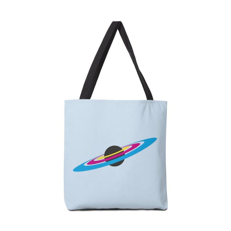 CMYK planet Accessories Bag by sustici's Artist Shop