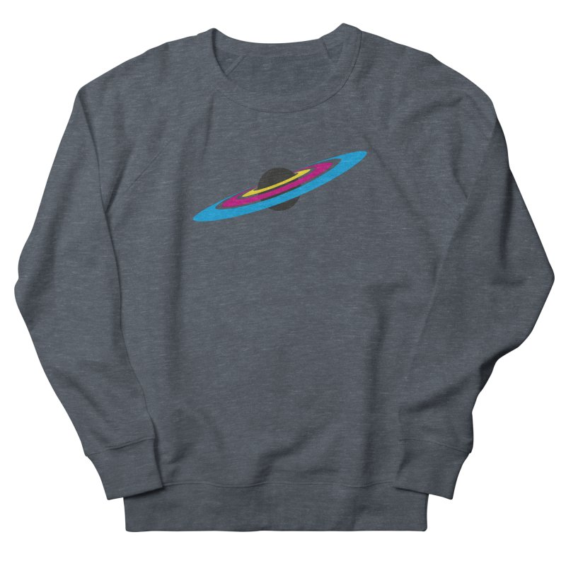 CMYK planet Women's French Terry Sweatshirt by sustici's Artist Shop