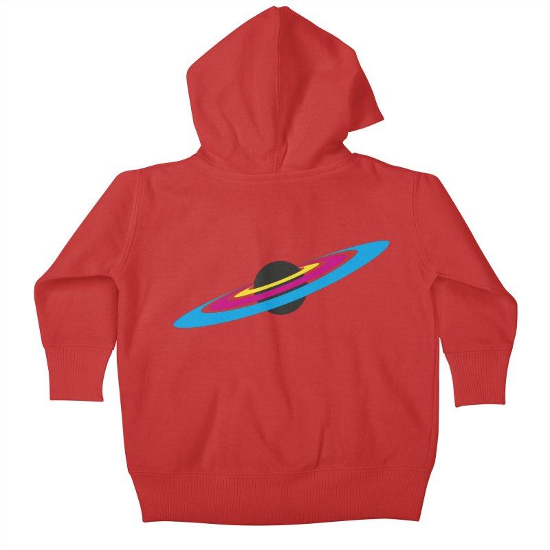 CMYK planet Kids Baby Zip-Up Hoody by sustici's Artist Shop