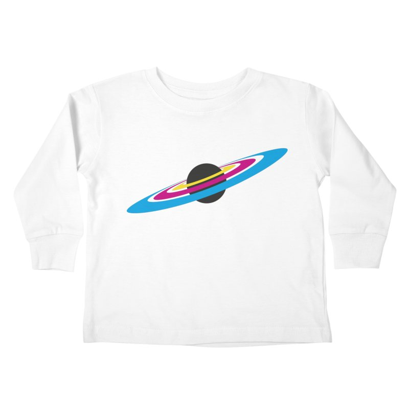 CMYK planet Kids Toddler Longsleeve T-Shirt by sustici's Artist Shop
