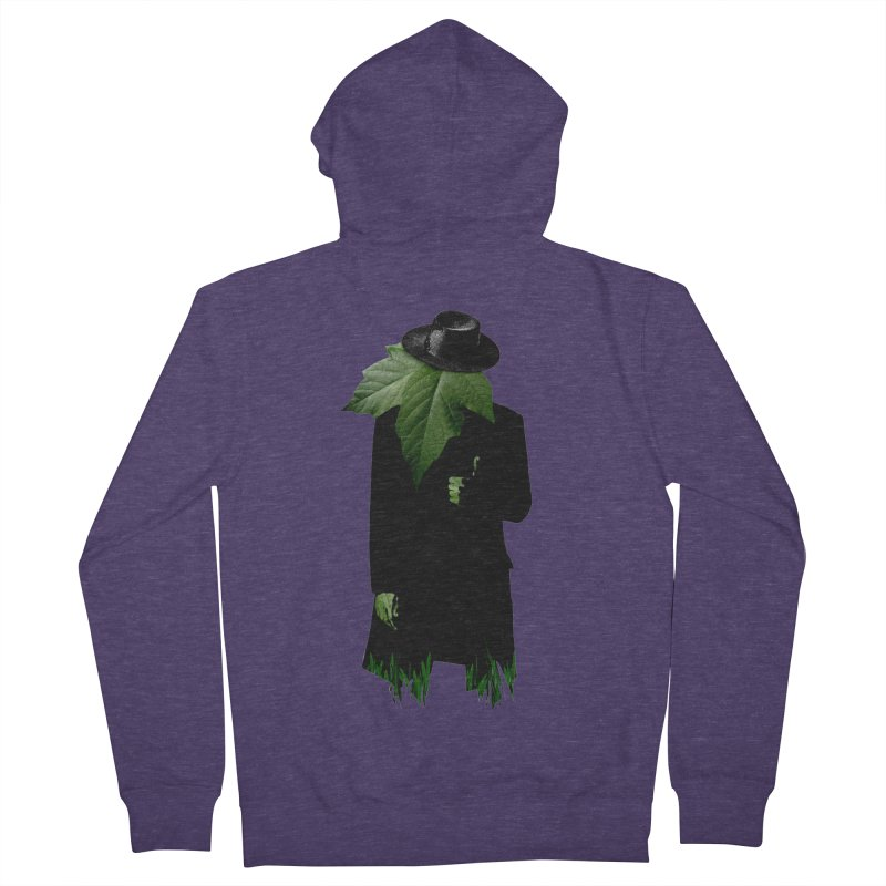Mr. Greenthumb! Men's Zip-Up Hoody by sustici's Artist Shop