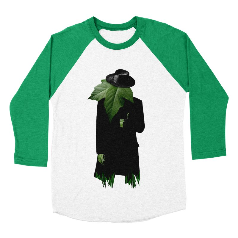 Mr. Greenthumb! Women's Baseball Triblend Longsleeve T-Shirt by sustici's Artist Shop