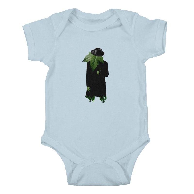 Mr. Greenthumb! Kids Baby Bodysuit by sustici's Artist Shop