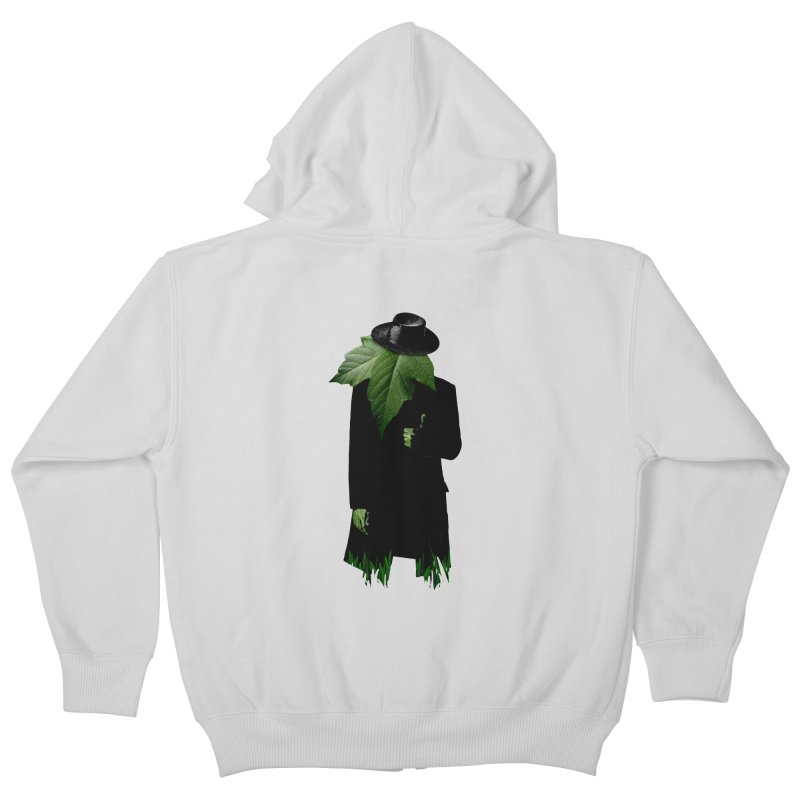 Mr. Greenthumb! Kids Zip-Up Hoody by sustici's Artist Shop
