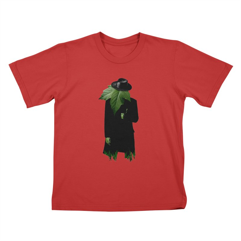 Mr. Greenthumb! Kids T-Shirt by sustici's Artist Shop