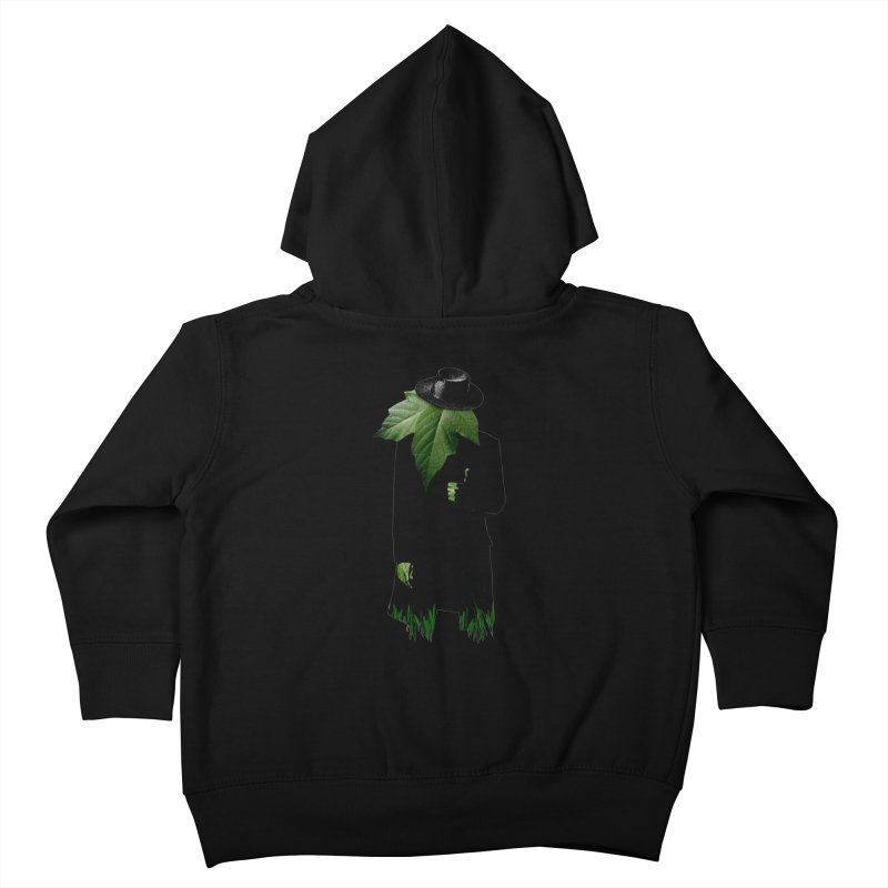 Mr. Greenthumb! Kids Toddler Zip-Up Hoody by sustici's Artist Shop