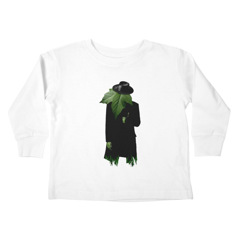 Mr. Greenthumb! Kids Toddler Longsleeve T-Shirt by sustici's Artist Shop