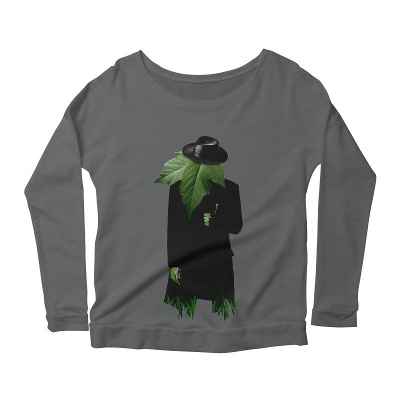 Mr. Greenthumb! Women's Longsleeve Scoopneck  by sustici's Artist Shop