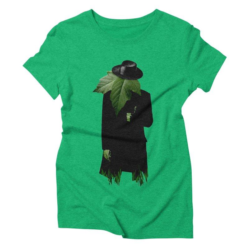 Mr. Greenthumb! Women's Triblend T-Shirt by sustici's Artist Shop