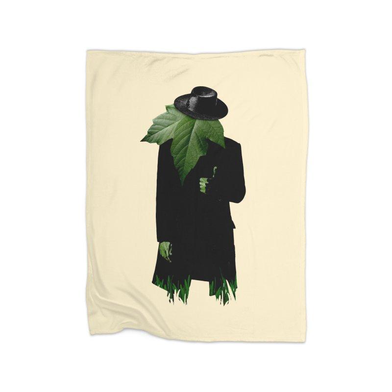 Mr. Greenthumb! Home Fleece Blanket Blanket by sustici's Artist Shop