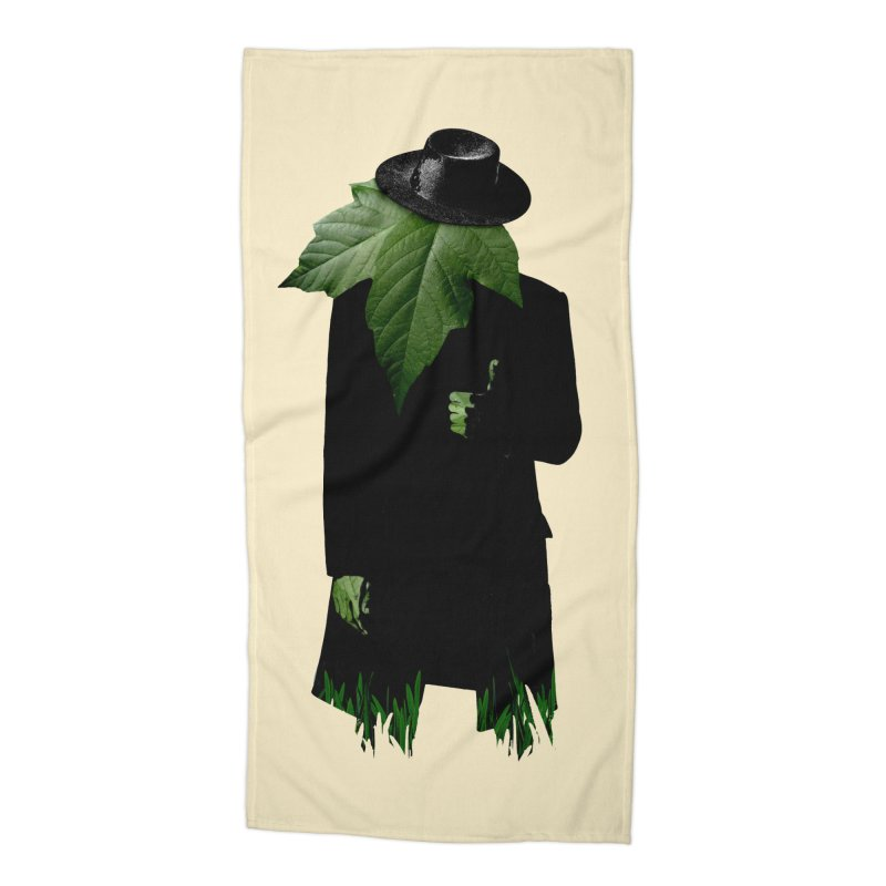 Mr. Greenthumb! Accessories Beach Towel by sustici's Artist Shop